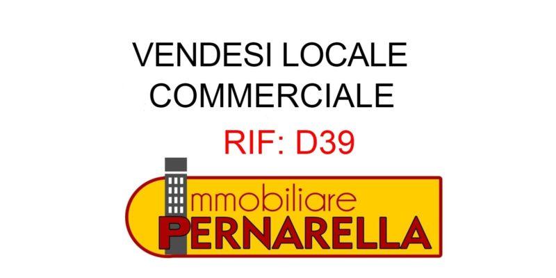 RIF: D39 LOCALE COMMERCIALE IN ZONA DI GRANDE PASSAGGIO